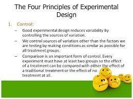good experimental design experiments and observational studies ppt download