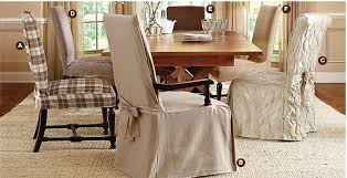 High Back Dining Room Chair Covers Spacious Dining Chair Covers Sure Fit Slipcovers On Room With Arms
