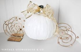cinderella pumpkin carriage diy cinderella pumpkin carriage tutorial the vintage storehouse