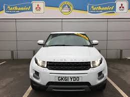 mitsubishi land rover used land rover range rover evoque sd4 pure tech white 2 2