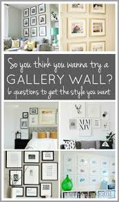so you want to try a gallery wall