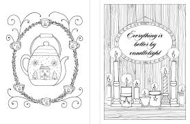 amazon com hygge coloring book a book to enjoy u0026 color for