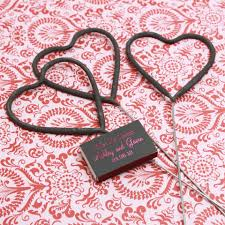 heart shaped sparklers heart shaped wedding sparklers pack of 6 wedding decorations