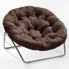 Papasan Chair Cover Furniture Modern White Fabric Tufted Cushion Pad In Dark Cherry