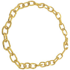 large gold link necklace images Jean mahie jewelry necklaces earrings 21 for sale at 1stdibs jpg