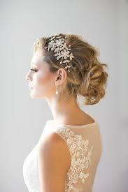 Braut Hochsteckfrisurenen Kurze Haare by Haar Brautfrisuren Für Mittellange Haare 2499141 Weddbook