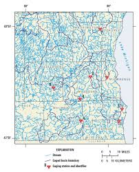 Wisconsin Lakes Map by Usgs Ground Water In The Great Lakes Basin The Case Of