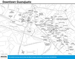 Downtown San Francisco Map by San Miguel De Allende Maps Printable Travel Maps From Moon Guides