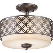 Bronze Kitchen Lighting Stunning Flush Mount Kitchen Light Fixture With Warm White