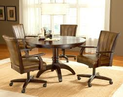 kitchen table with caster chairs casters for dining room chairs dining chairs on wheels kitchen