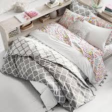 Duvet And Comforter Lucky Clover Reversible Duvet Cover Sham Pbteen