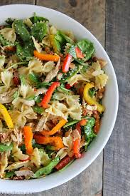 oriental chicken pasta salad baked in az