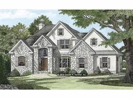 striking european style with stucco and stone hwbdo67447 european