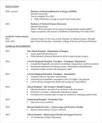 Physician Resume Examples by Physician Resume Samples Medical Cv Template Cv Examples Pinterest