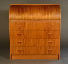 teak roll top desk danish teak rolltop desk with four drawers for sale at 1stdibs
