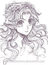 fairy or elf sketch by searchingforhope on deviantart