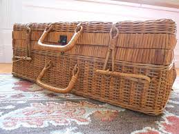 vintage picnic basket the cleaning care of an antique picnic basket storypiece