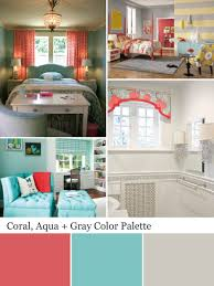bedrooms stunning coral color home decor coral and teal decor