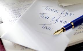 Thank You Letter After Sponsorship Meeting thank you letter example for an administrative interview