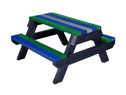 recycled plastic picnic tables the macaw junior recycled plastic picnic table