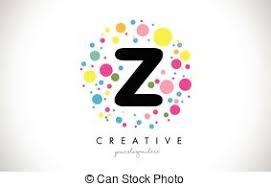 clip art vector of bubbles letters z gentle underwater or soap
