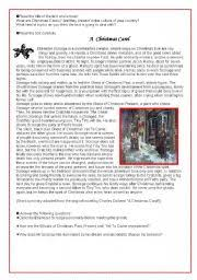 teaching worksheets carols