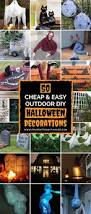 Garden Halloween Decorations Best 25 Outdoor Halloween Parties Ideas On Pinterest Diy