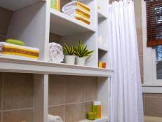 Cabinets For Small Bathrooms by Small Bathroom Cabinets Hgtv