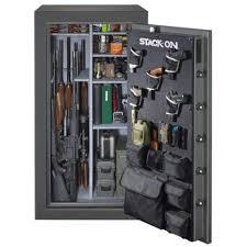 stack on 14 gun cabinet accessories stack on total defense 40 gun safe td 40 gp c s garage department