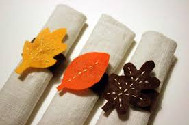 and easy diy thanksgiving napkin rings the home design