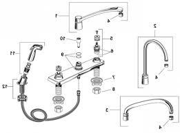 Delta Faucet Parts Diagram Delta Kitchen Faucet Parts Diagram Briqs