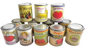 vintage retro food tin canisters set of 12 chairish