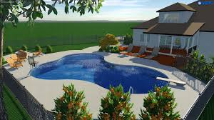 raleigh landscape design 3d pool u0026 spa services choice p u0026s
