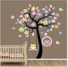 stickers pour chambre bébé fille chambre stickers muraux mur de l usine des autocollants de blansdi