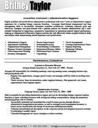 Sample Of Executive Assistant Resume by Great Executive Assistant Cover Letters A Resume Sample