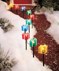 Christmas Decorations Pathway Lights by Christmas Presents Pathway Lights Christmas Wikii