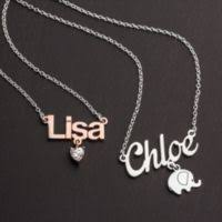 Personalized Name Personalized Name Necklace Jewlr