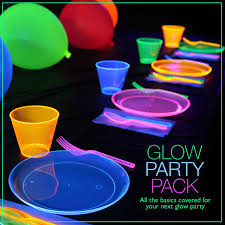 glow party ideas glow party pack glow in the party ideas glow in the