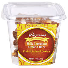 milk chocolate almond bark wegmans