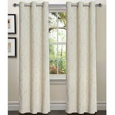 Luxury Linen Curtains Window Elements Elinor Linen Damask Sheer Curtain Panels Reviews