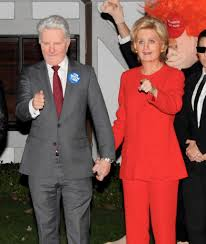 halloween party in orlando katy perry orlando bloom and a friend as hillary clinton donald