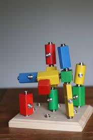 diy wooden snap blocks