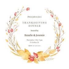 thanksgiving invitations free thanksgiving invitation templates greetings island