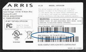arris vip2502 reference guide mts