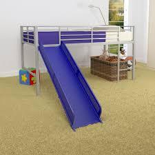 dorel home junior fantasy loft with slide silver hayneedle