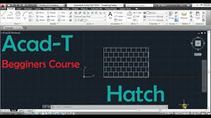 tutorial autocad hatch how to use hatch command in autocad autocad tutorial youtube