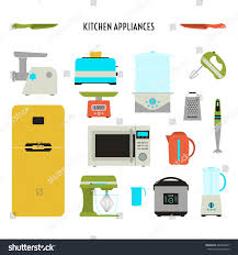 Design Of Kitchen by Vector Illustration Kitchen Icon Set Flat Stock Vector 404304097