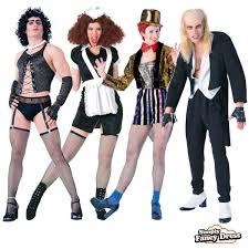 mens ladies rocky horror show halloween fancy dress costume