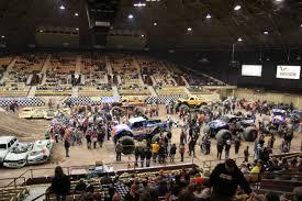 monster trucks show 2015 file monster trucks inside brown county arena 2015 jpg wikimedia