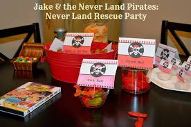 jake and the neverland party ideas party ideas archives insanity is not an option